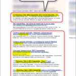 Références pages de vente seo copywriting 22-1-2014 google