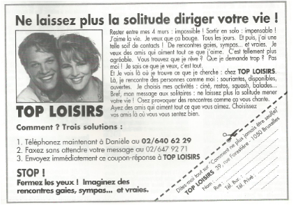 annonce-presse Top Loisirs 1