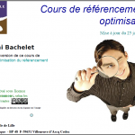formation referencement SEO Bachelet